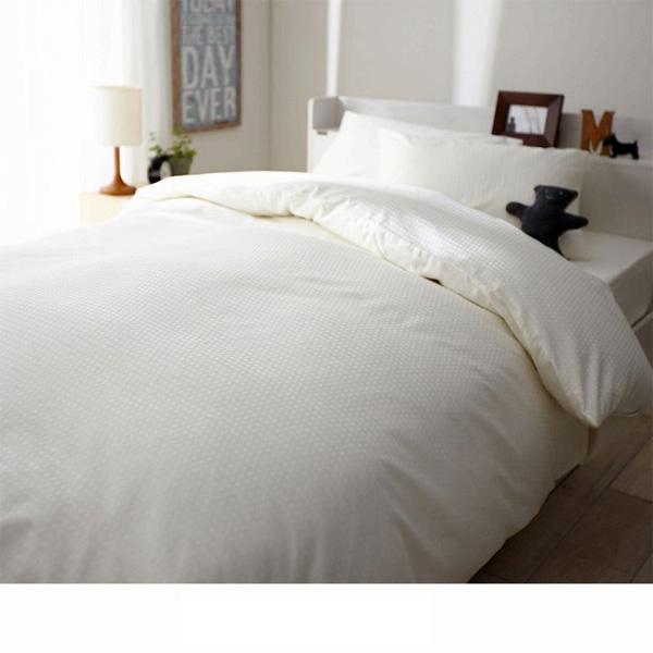 日本製綿100%布団カバー(D・敷き布団カバー・シングル) Dシェルピンクの写真