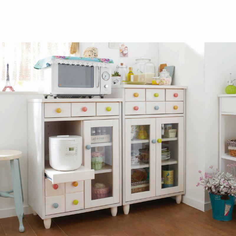 カジュアルミニ食器棚 (キャビ)の写真