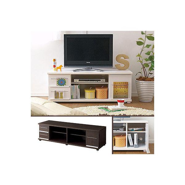 テレビ台(幅152cm) Cホワイトの商品画像