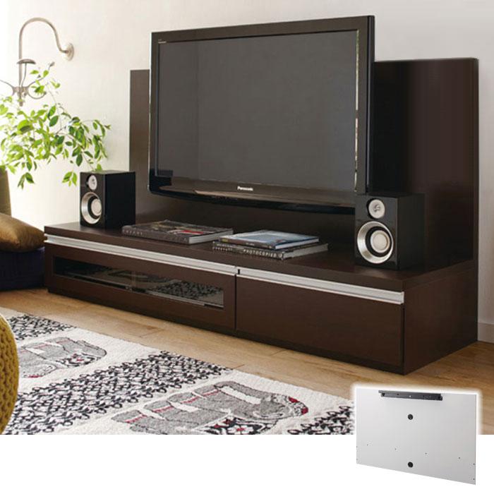 ロータイプ大型テレビ台パネル(B2・パネル・幅140cm) Bホワイト 2の写真