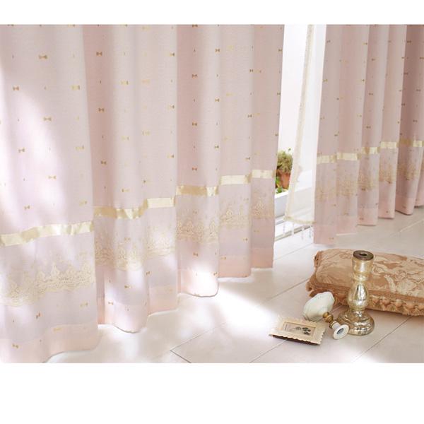 ジャガード遮光カーテン(150x178・2枚組) ベージュの商品画像