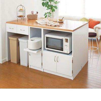 ユニットキッチンカウンター(H・天板120cm) H(天板120)の写真