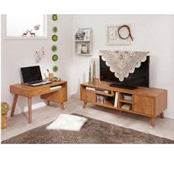 コンパクト家具シリーズ(Hパソコンデスク) ナチュラル H(パソコンデスク)の写真