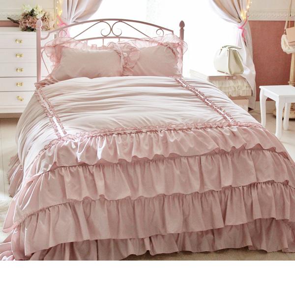 デザインアイアンベッド(Bマットレス付・シングル) Bピンクの写真