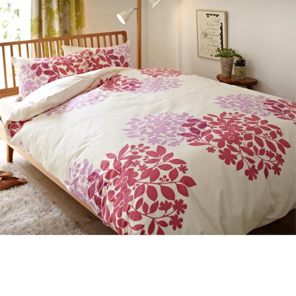北欧調掛け布団カバー(セミダブル) ピンクの商品画像