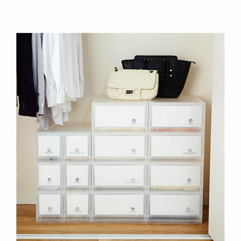 収納ケースラベル紙付き(4段2個セット・Mサイズ)の商品画像