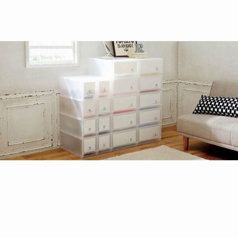 収納ケースラベル紙付き(5段2個セット・Mサイズ)の商品画像