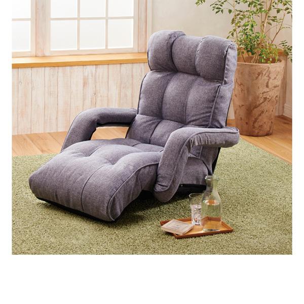 座り心地にこだわった座椅子 ベージュの商品画像