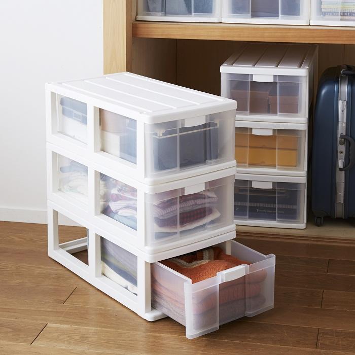 押入れ収納ボックス 4個セット (幅39・奥行74cm)の商品画像