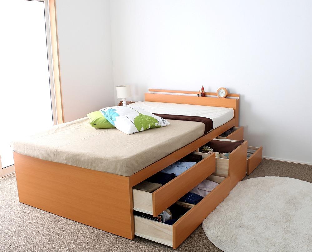 収納ベッド特集|生活雑貨は家具・インテリア・収納のショップです♪