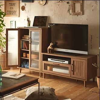 Aテレビ台+Cキャビネット